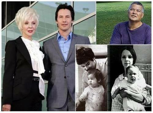 Keanu Reeves childhood pics